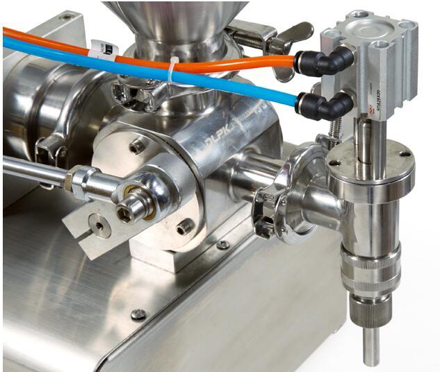 半自动定量膏体灌装机工作原理和性能